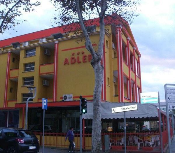 Отдых в Италии отель Hotel Adler в Римини