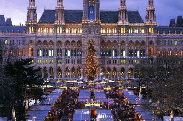 Рождественская сказка в Вене